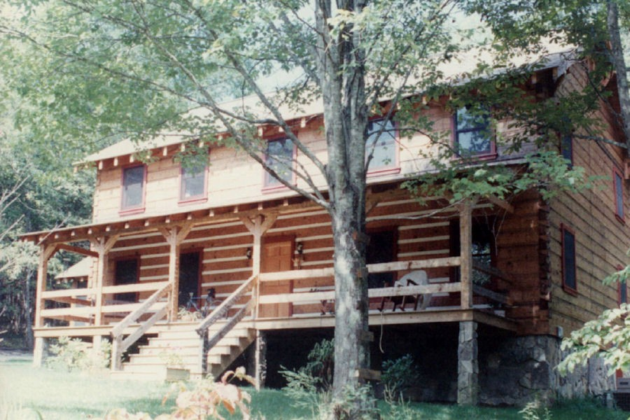 Exterior Log Home Cabin Pictures Battle Creek Log Homes