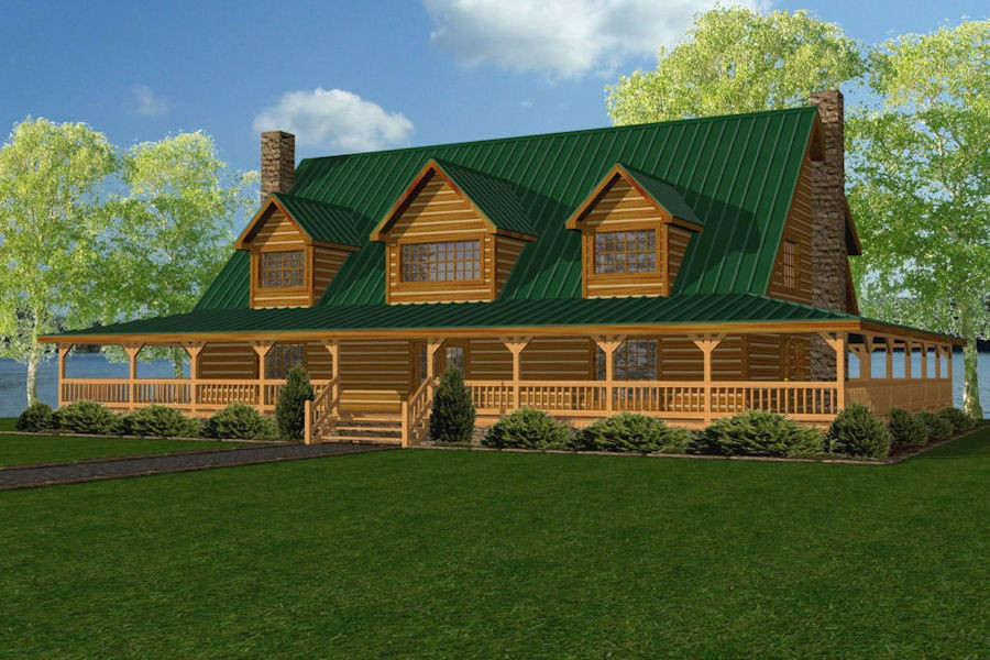 Log home floor plans over 5 000 square feet for How much is 5000 square feet