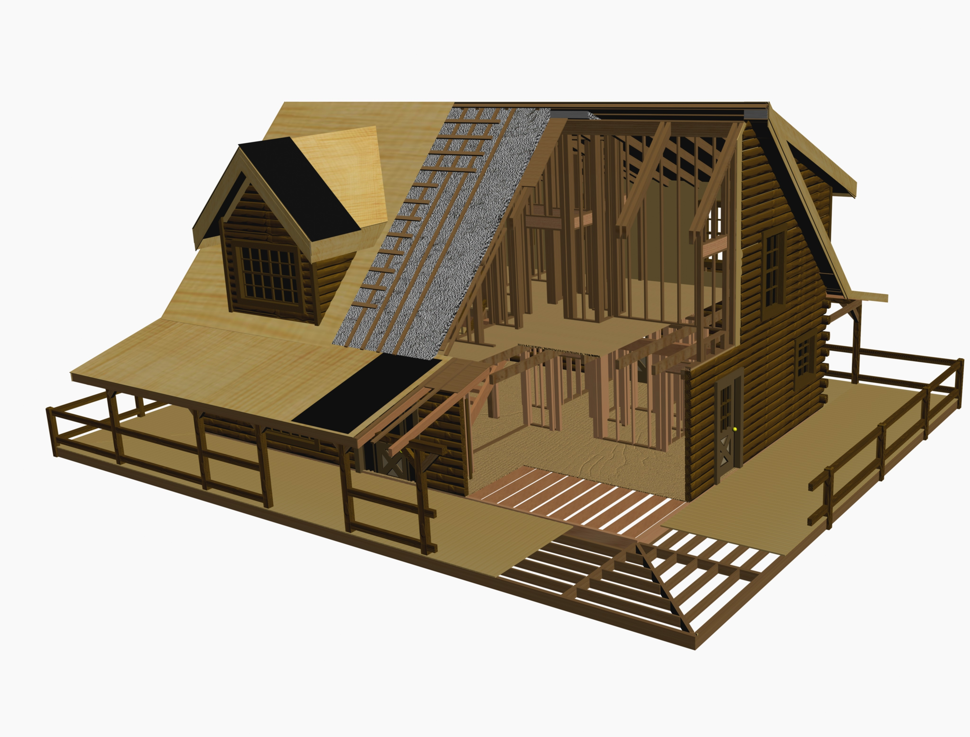 Log Cabin Home Packages Kits Battle Creek Log Homes