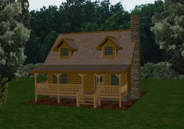 Log Cabins Amp Small Log Homes Battle Creek Log Homes Tn