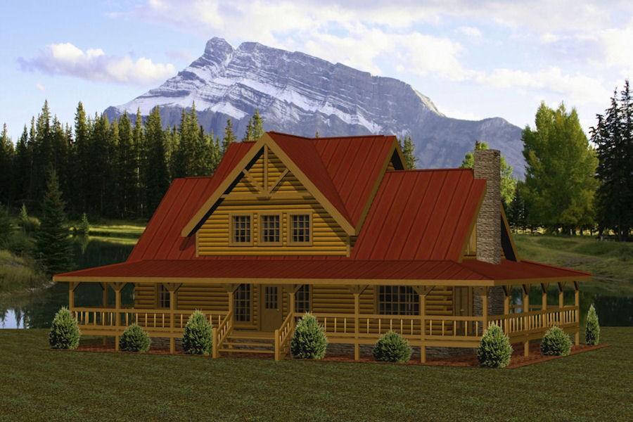 Dogwood Battle Creek Log Homes