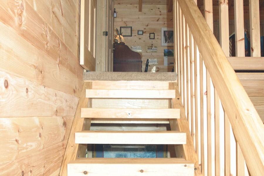 Interior Log Home Cabin Pictures Battle Creek Log Homes