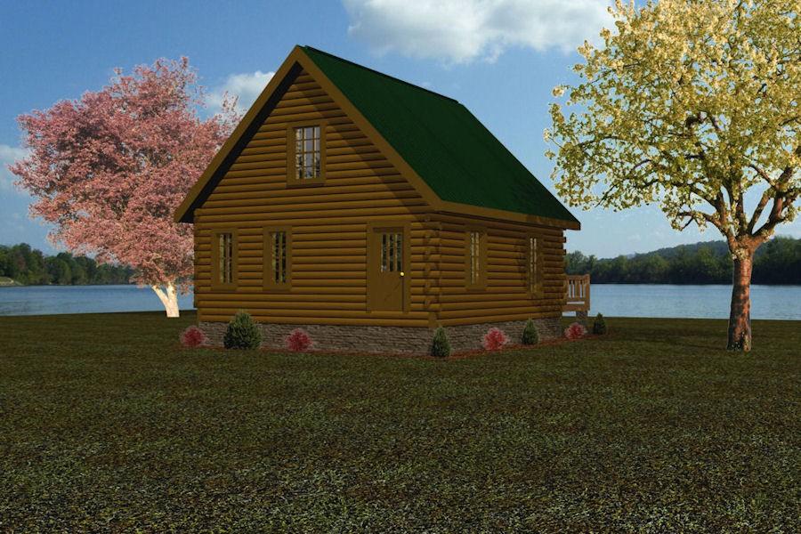 Trapper Battle Creek Log Homes