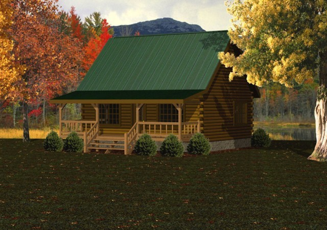 Log Cabins Amp Small Log Homes Battle Creek Log Homes Tn