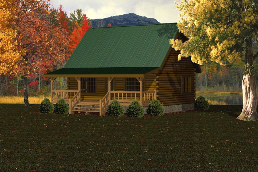Special promotions for log cabins homes houses battle for Log homes under 1000 square feet