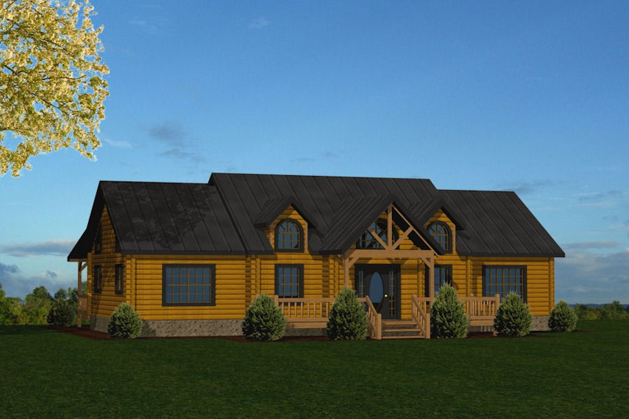Mennonite home builders in tennessee homemade ftempo for Log cabin builders in alabama