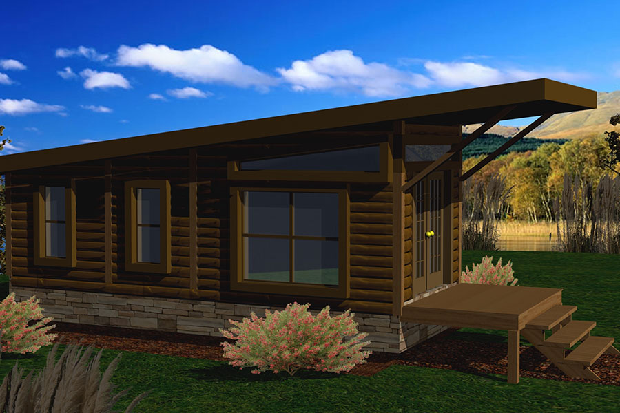 Small Log Cabin Kit Homes Small Log Cabin Floor Plans: Log Homes, Cabins, & Houses: Battle Creek Log Homes, TN