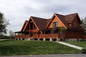 Log Homes, Cabins, & Houses: Battle Creek Log Homes, TN